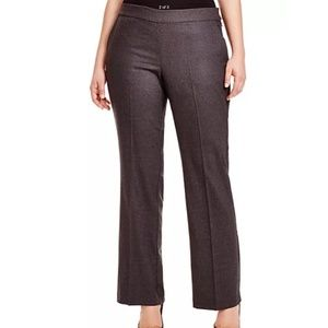 Eileen Fisher NWT Wool Bootcut Trouser in Charcoal